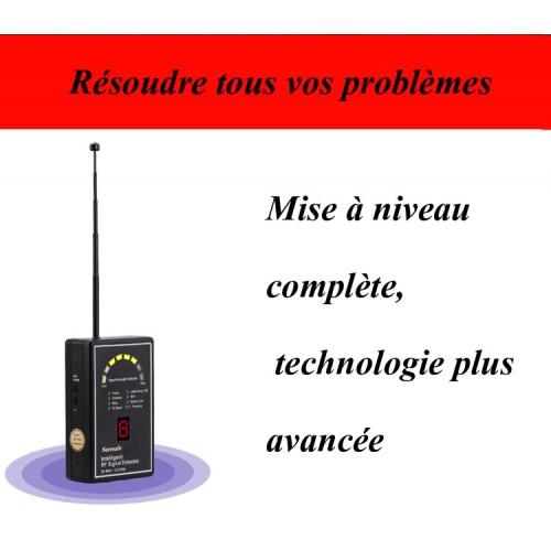 Détecteur d'ondes radio multifonctions HN-055NRG distance de détection de 10 m détection de module professionnel amélioration numérique des ondes lumière de balayage de caméra.
