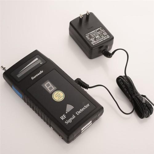 Détecteur numérique d'ondes radio à sensibilité réglable détection à distance avec faible bruit et caméra à balayage