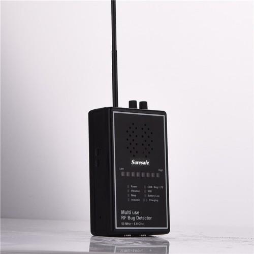 H-OO5UN7LC détecteur d'ondes radio, haute sensibilité, paramètres d'affichage intelligents, avec scanner d'appareil photo