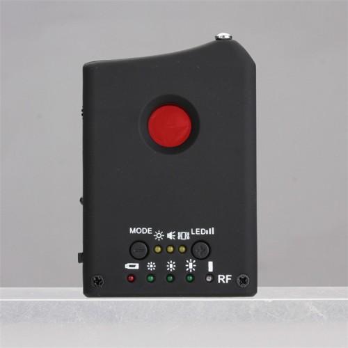 Détecteur de signal sans fil mini méthodes d'alarmes de détection multiples affichage pas à pas de l'intensité du signal 10 heures en veille balayage d'objectif à trou d'épingle balayage infrarouge