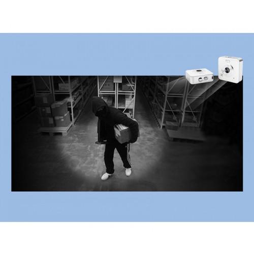 Caméra réseau sans fil WIFI objectif grand angle 100 ° connexion WIFI image haute définition interphone bidirectionnel surveillance à distance multiplateforme