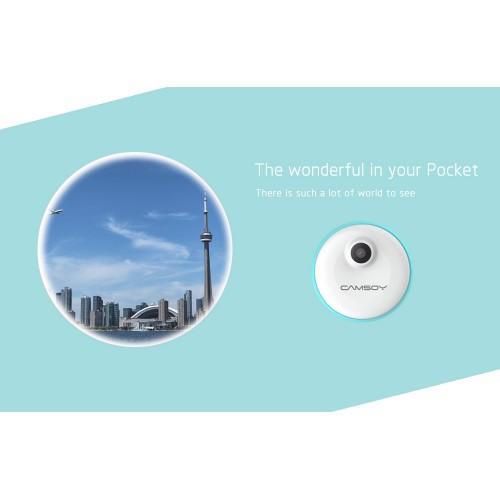 Mini caméra M1 HD portable conception sans clé imagerie HD 720p chargement pendant l'enregistrement surveillance des mouvements