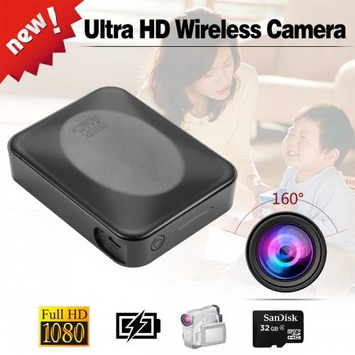 Caméra d'alimentation mobile 1080P longue durée de vie de la batterie commande par bouton détection de mouvement portable
