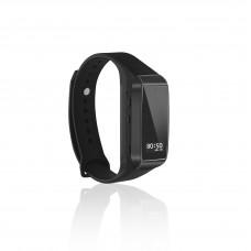 Appareil photo avec bracelet non poreux K68 1080p HD prise de vue en continu avec une seule touche enregistrement en boucle automatique extension de mémoire 64G enregistrement séparé