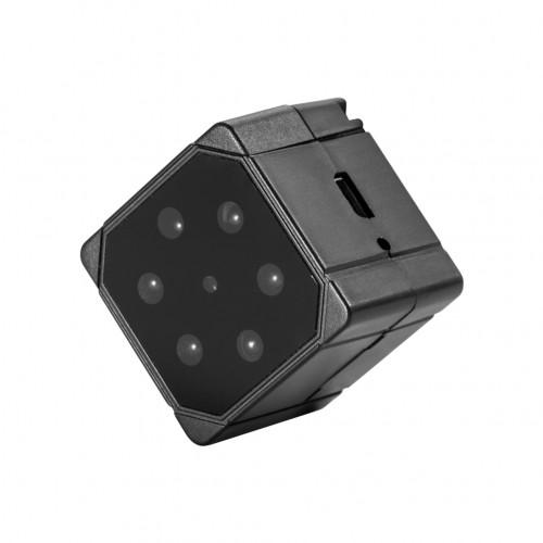 Mini caméra SQ19 1080P base magnétique rotation à 360 ° enregistrement par faible luminosité extension de mémoire 32G