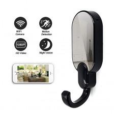 Crochet de caméra invisible HD 1080p connexion directe APP surveillance de mouvement extension de mémoire 32G vision nocturne super