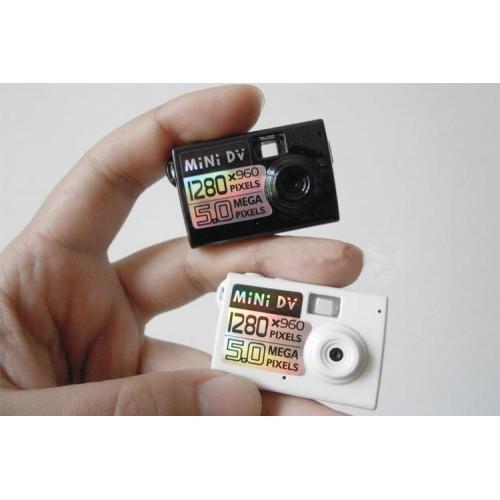 Pas d'écran compact mini caméra performances puissantes plus emballage de boîte en fer de haute qualité
