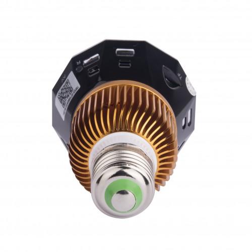Ampoule 1080p Ménagecaché Caméra WIFI vidéo permanentesuper grand angle Connexion P2P